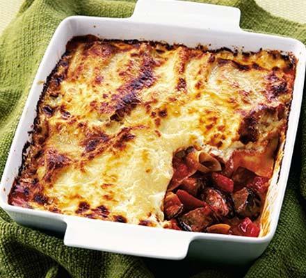Recetas – Lasaña vegetariana