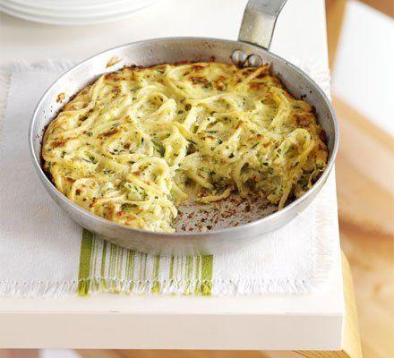 Recetas – Tortilla de spaghetti