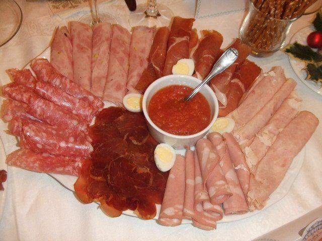 Recetas – Entrantes de embutidos, salmón y quesos