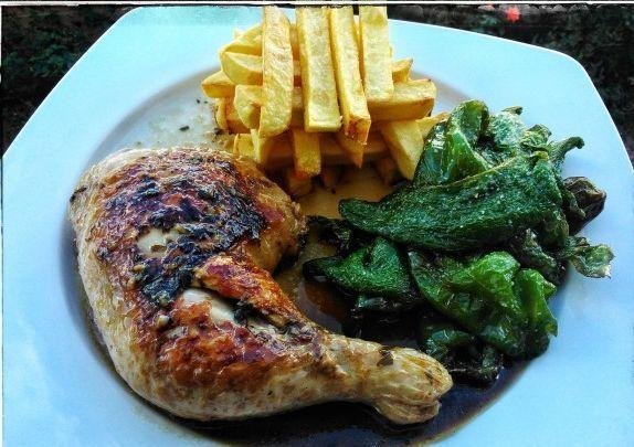 Recetas – Pollo asado al Pedro Ximenez