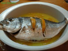 Recetas – Dorada al limon al microondas