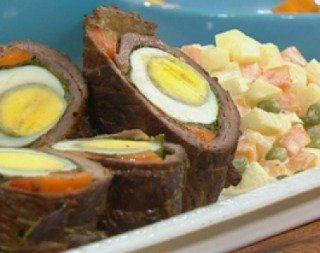 Recetas – Rolls de milanesas con ensalada rusa