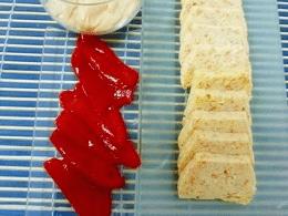 Recetas – Pastel de surimi al microondas