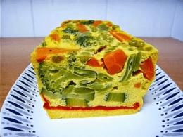 Recetas – Pastel de verduras al microondas