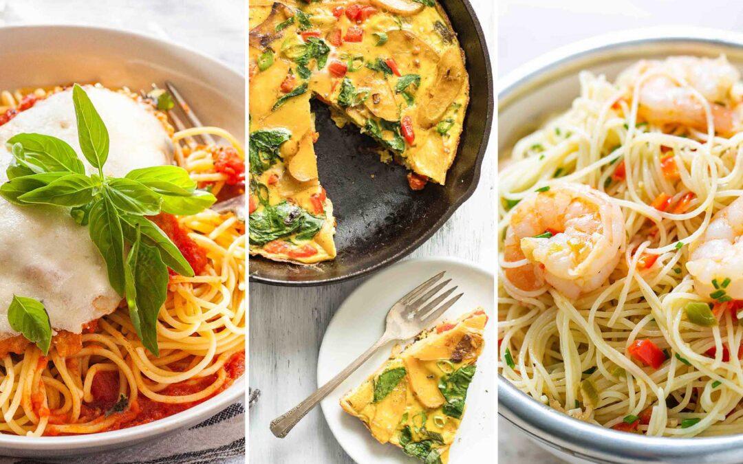 Plan de comidas Simply Recipes 2019: Semana 1 de diciembre