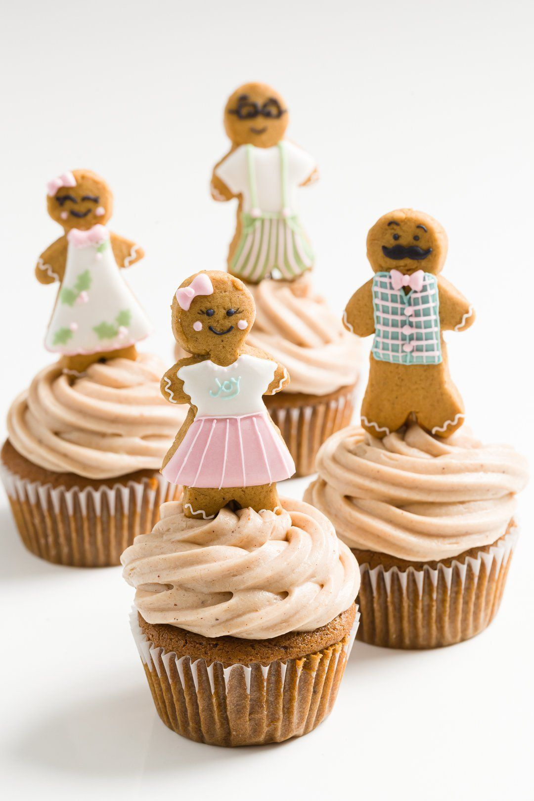 Cupcakes de pan de jengibre: la mejor receta para las vacaciones de 2019