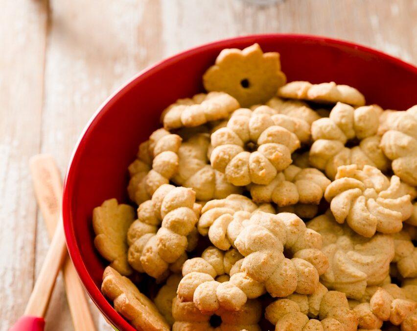 Spritz Cookies – La mejor receta de prensa de galletas con muchos consejos