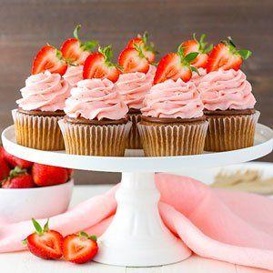 Cupcakes De Fresa Nutella