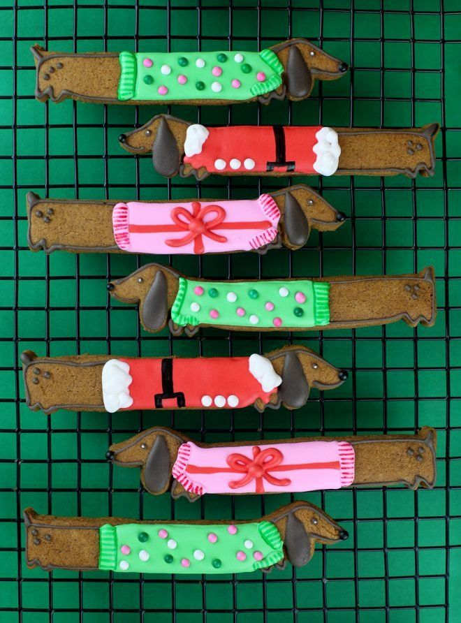 Doggone Cute Christmas Cookies – bakerella.com