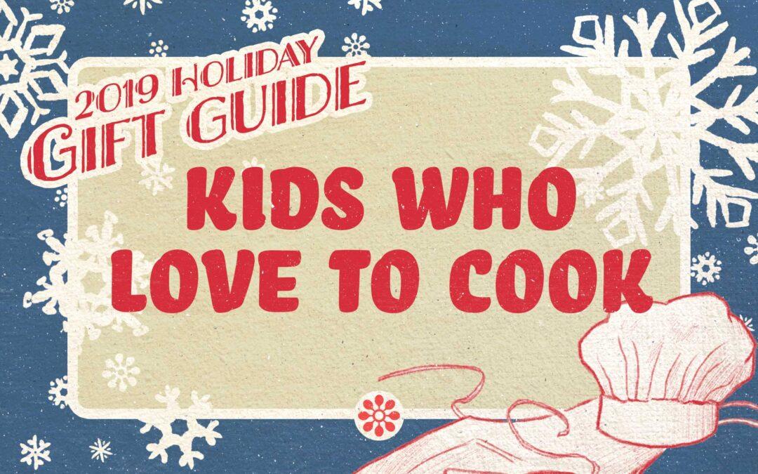 Guía de regalos de Simply Recipes 2019: niños que aman cocinar