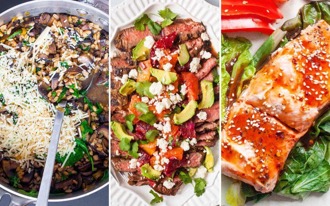 Plan de comidas de Simply Recipes 2019: Semana 5 de diciembre