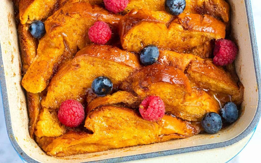 Tostada francesa al horno perfecta