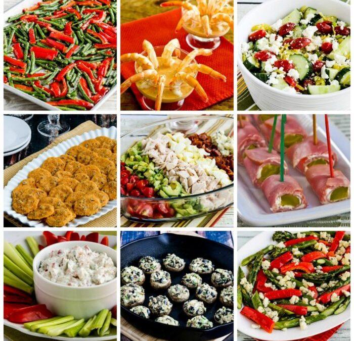 Más de 25 guarniciones, aperitivos y ensaladas navideñas bajas en carbohidratos y sin gluten