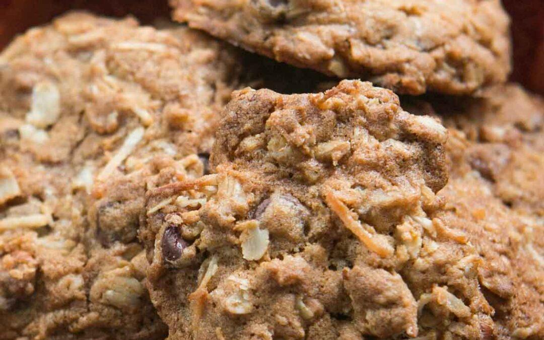 Receta de galletas de vaquero de Laura Bush