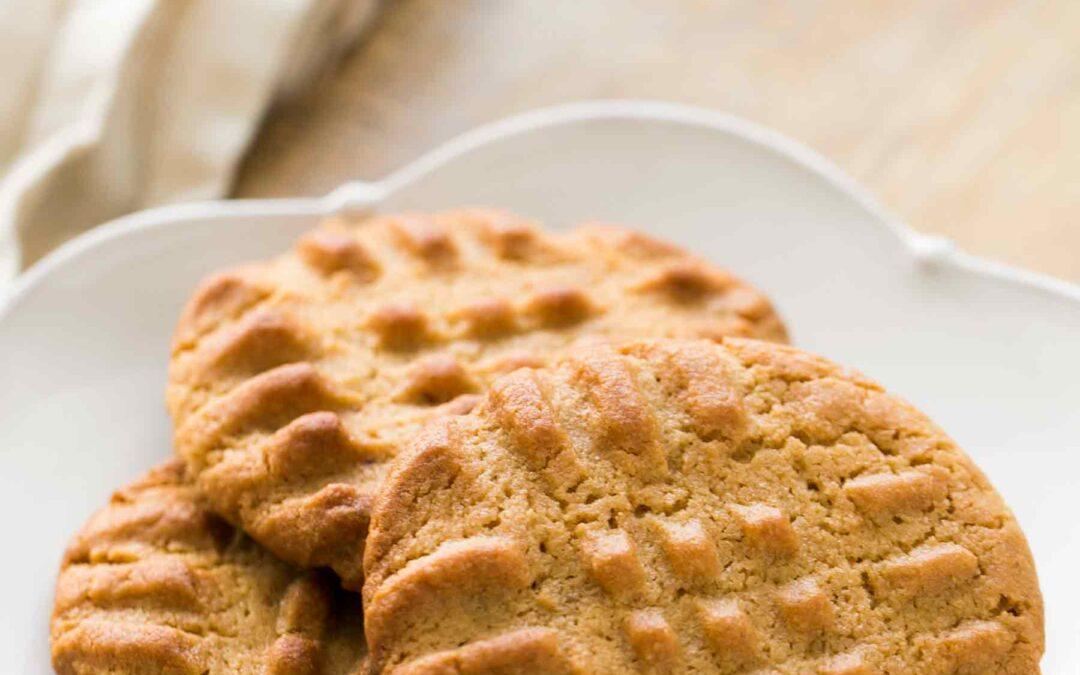 Galletas fáciles de mantequilla de maní {Hecho en casa}