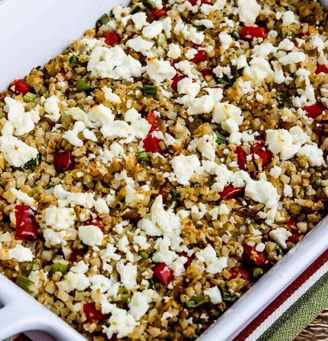 Horneado de arroz griego con coliflor – Kalyn's Kitchen