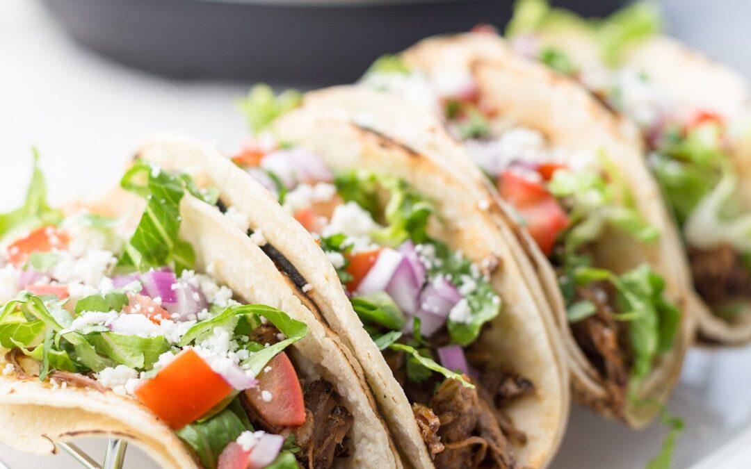 Receta instantánea de carne de cerdo mexicana picada (Carnitas)