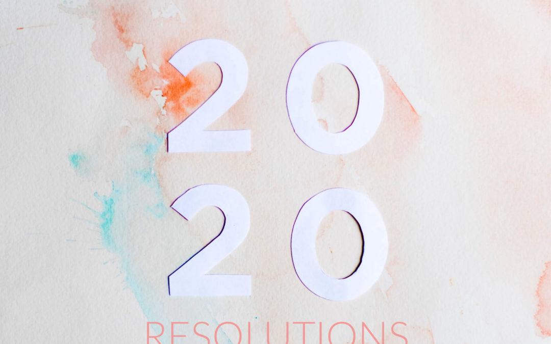 Resoluciones para 2020 – Andie Mitchell