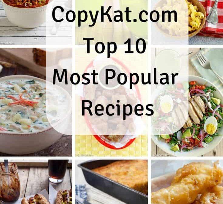 Recetas más populares de CopyKat de 2019