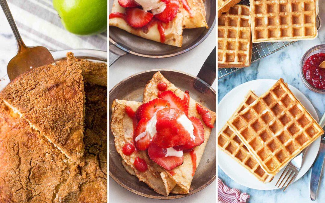 5 recetas especiales de desayuno de fin de semana