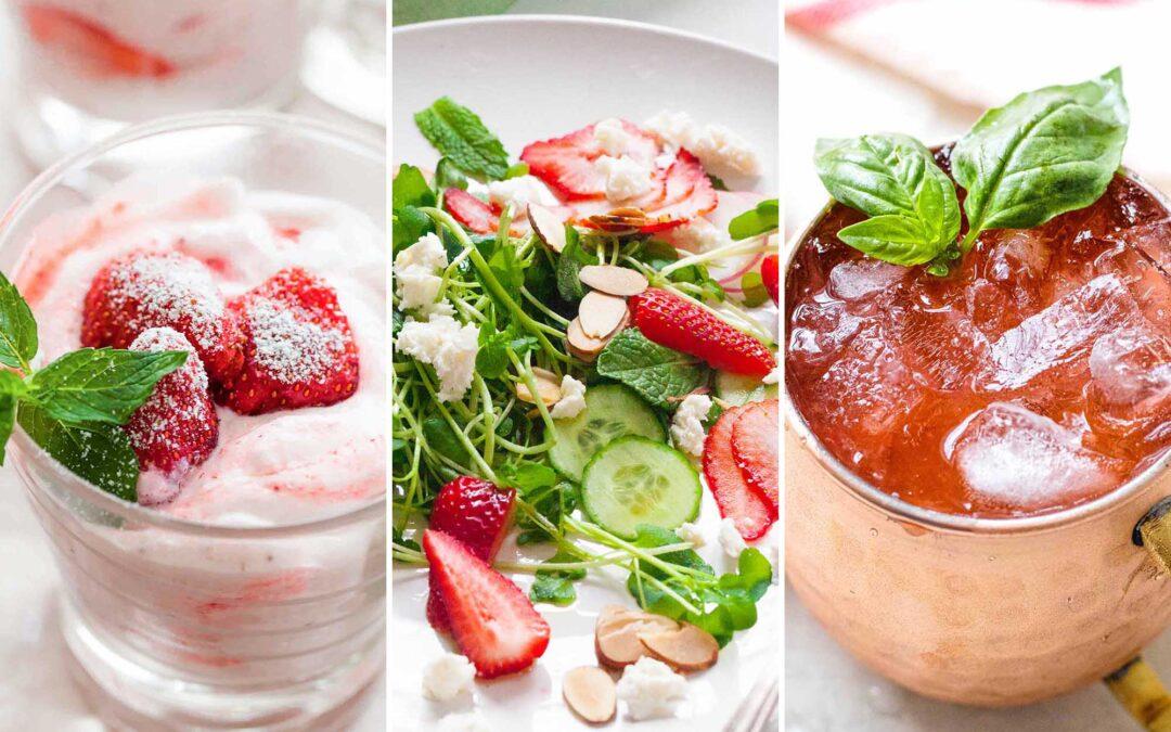 5 recetas de fresas para comenzar un año nuevo saludable