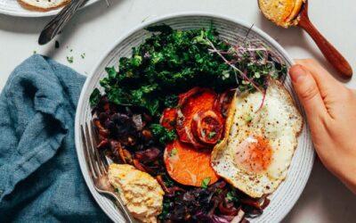 El sencillo pero bueno desayuno Bowl (¡20 minutos!)