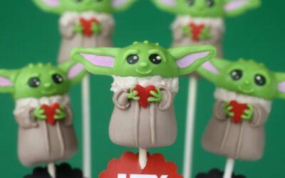 Hola bebé, Yoda Best! El | bakerella.com