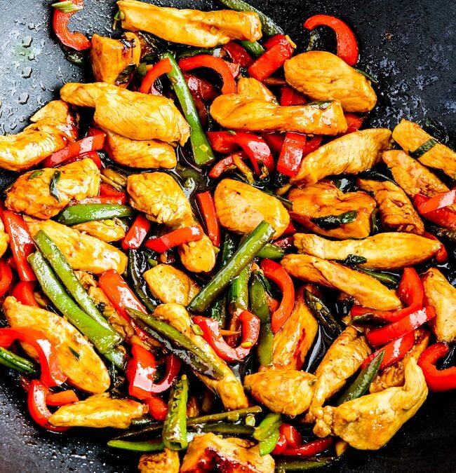 Salteado de Pollo al Jengibre – Kalyn's Kitchen