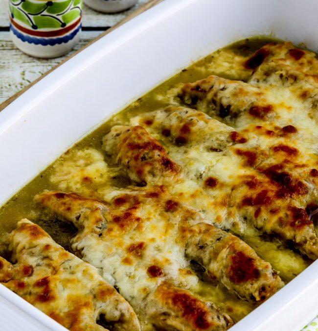 Salsa Verde Chicken Bake – Kalyn's Kitchen