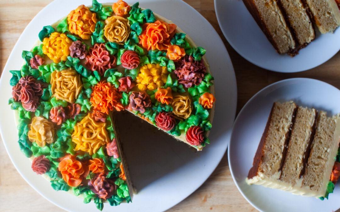 nuevo pastel de bodas clásico + cómo – cocina herida