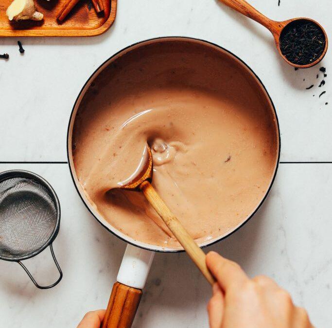 Receta fácil Masala Chai | Recetas minimalistas de panadero