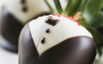 Cómo hacer fresas cubiertas de chocolate