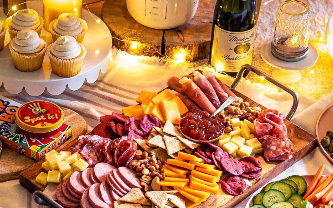 Un picnic de San Valentín para toda la familia