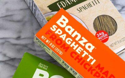 ¡3 pastas sin gluten altas en proteínas que debes probar!