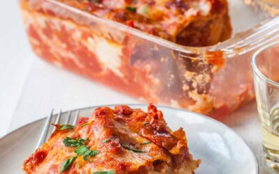 Pan Lasagna para dos recetas