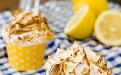 Pastelitos De Merengue De Limón | Proyecto de magdalenas