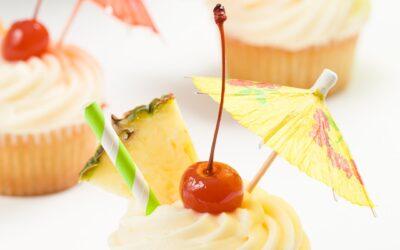 Pastelitos de piña colada | Proyecto de magdalenas