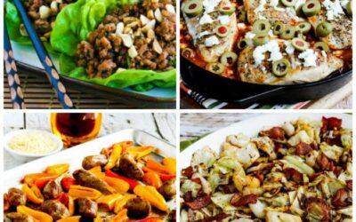 Mis cenas favoritas rápidas y fáciles con bajo contenido de carbohidratos