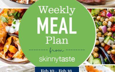 Plan de comidas para perder peso de 7 días (del 10 de febrero al 16 de febrero)