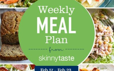 Plan de comidas para bajar de peso de 7 días (17-23 de febrero)
