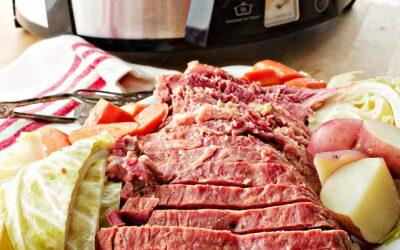 Receta de carne en lata y col de cocción lenta