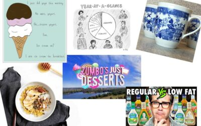The Friday Buzz: Zumbo, obsesiones de helados y debates sobre aderezos para ensaladas