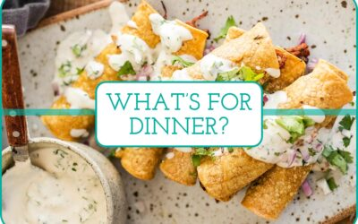 Plan de comidas de esta semana: 5 ideas para cenar para gente ocupada