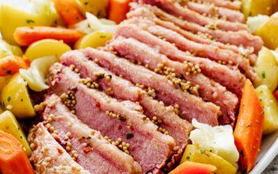Receta instantánea de carne en conserva y repollo