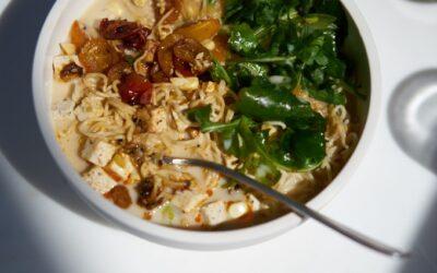 Una receta de ramen vegano realmente genial