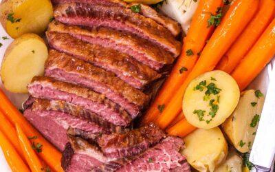 Receta clásica de carne en lata y col
