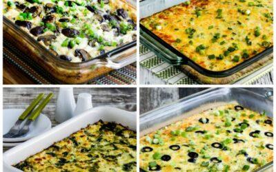 Cazuelas de desayuno bajas en carbohidratos y ceto (Master Recipes)