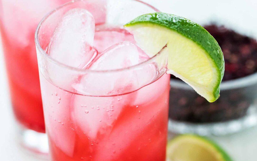 Receta de hibisco Spritz | SimplyRecipes.com