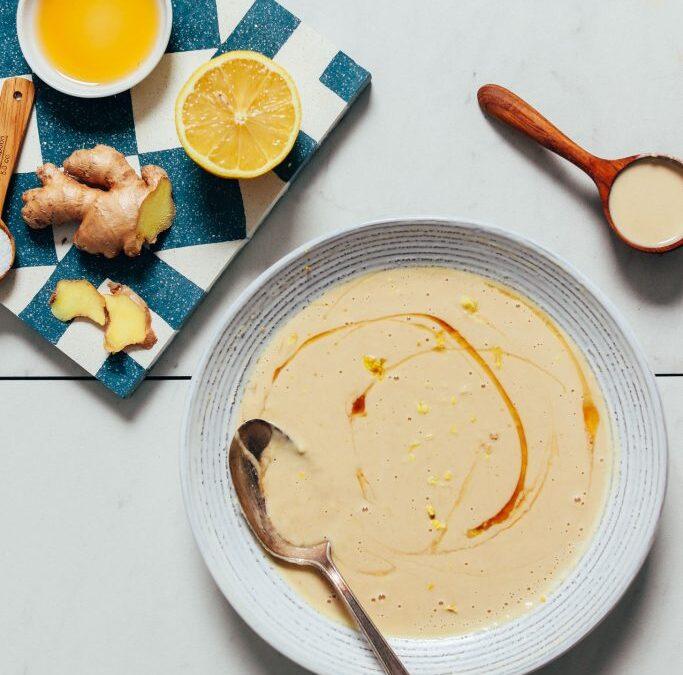 Salsa Gingery de limón y tahini | Recetas minimalistas de panadero