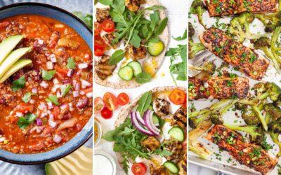 10 recetas para mantenerte saludable
